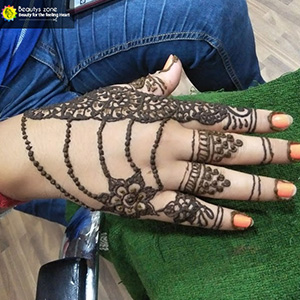 bridal mehndi back hand